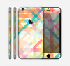 The Colorful Abstract Plaid Intersect Skin for the Apple iPhone 6 Plus