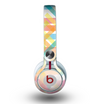 The Colorful Abstract Plaid Intersect Skin for the Beats by Dre Mixr Headphones