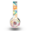 The Colorful Abstract Plaid Intersect Skin for the Original Beats by Dre Wireless Headphones