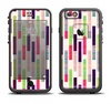The Colorful Abstract Plaided Stripes Apple iPhone 6/6s LifeProof Fre Case Skin Set