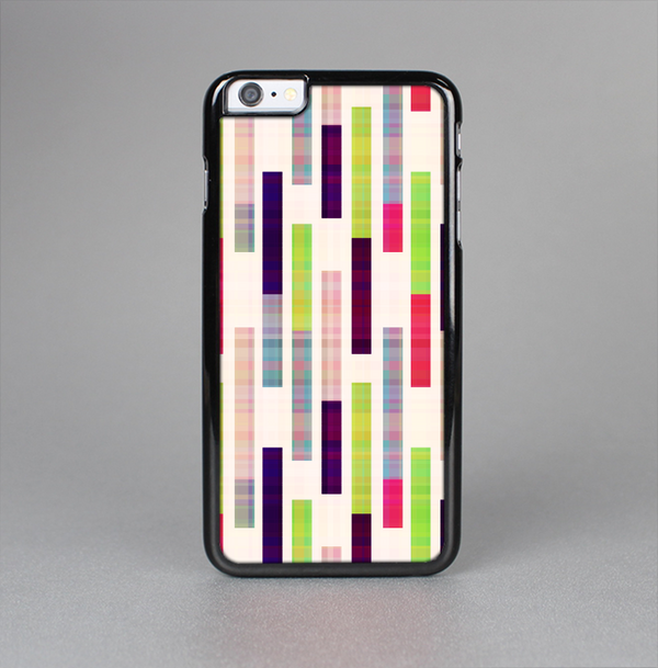 The Colorful Abstract Plaided Stripes Skin-Sert Case for the Apple iPhone 6 Plus