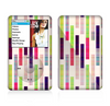 The Colorful Abstract Plaided Stripes Skin For The Apple iPod Classic