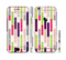 The Colorful Abstract Plaided Stripes Sectioned Skin Series for the Apple iPhone 6s