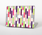The Colorful Abstract Plaided Stripes Skin for the Apple MacBook Pro Retina 15""