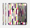 The Colorful Abstract Plaided Stripes Skin for the Apple iPhone 6