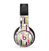 The Colorful Abstract Plaided Stripes Skin for the Beats by Dre Pro Headphones