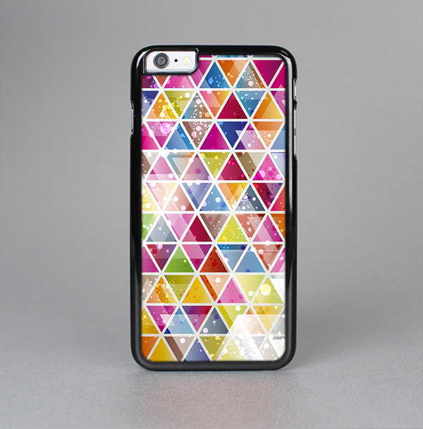 The Colorful Abstract Stacked Triangles Skin-Sert Case for the Apple iPhone 6 Plus