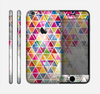 The Colorful Abstract Stacked Triangles Skin for the Apple iPhone 6