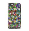 The Colorful Abstract Tiled Apple iPhone 6 Plus Otterbox Symmetry Case Skin Set