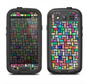 The Colorful Abstract Tiled Samsung Galaxy S3 LifeProof Fre Case Skin Set