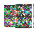 The Colorful Abstract Tiled Full Body Skin Set for the Apple iPad Mini 3