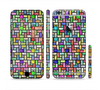 The Colorful Abstract Tiled Sectioned Skin Series for the Apple iPhone 6