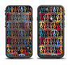 The Colorful Anchor Vector Collage Pattern Apple iPhone 6/6s LifeProof Fre Case Skin Set