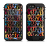 The Colorful Anchor Vector Collage Pattern Apple iPhone 6/6s LifeProof Fre POWER Case Skin Set