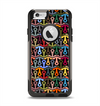 The Colorful Anchor Vector Collage Pattern Apple iPhone 6 Otterbox Commuter Case Skin Set