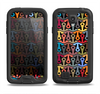 The Colorful Anchor Vector Collage Pattern Samsung Galaxy S4 LifeProof Fre Case Skin Set