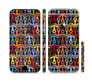The Colorful Anchor Vector Collage Pattern Sectioned Skin Series for the Apple iPhone 6s