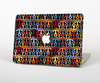 The Colorful Anchor Vector Collage Pattern Skin for the Apple MacBook Air 13""