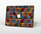 "The Colorful Anchor Vector Collage Pattern Skin Set for the Apple MacBook Pro 15"" with Retina Display"