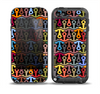 The Colorful Anchor Vector Collage Pattern Skin for the iPod Touch 5th Generation frē LifeProof Case
