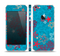 The Colorful Blue and Red Starfish Shapes Skin Set for the Apple iPhone 5
