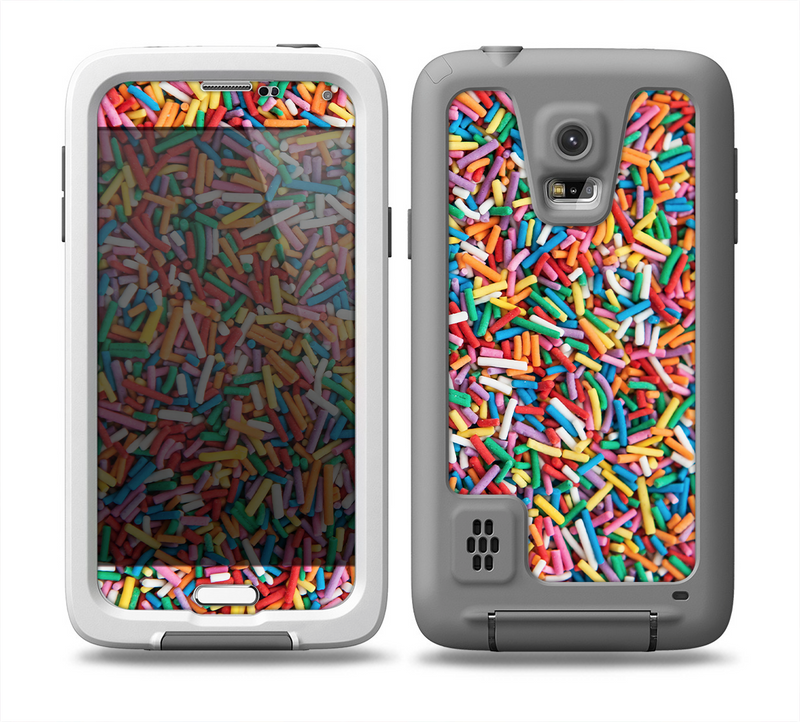 The Colorful Candy Sprinkles Skin for the Samsung Galaxy S5 frē LifeProof Case
