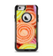The Colorful Candy Swirls Apple iPhone 6 Otterbox Commuter Case Skin Set