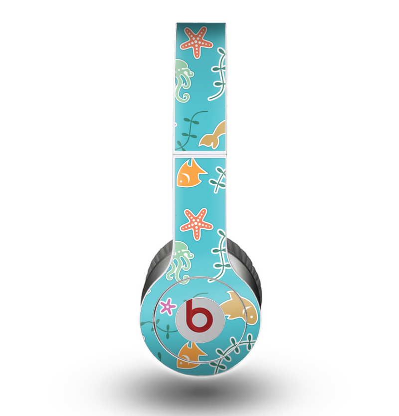 The Colorful Cartoon Sea Creatures Skin for the Beats by Dre Original Solo-Solo HD Headphones