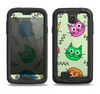 The Colorful Cat iCons Samsung Galaxy S4 LifeProof Fre Case Skin Set