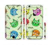 The Colorful Cat iCons Sectioned Skin Series for the Apple iPhone 6 Plus