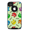 The Colorful Cat iCons Skin for the iPhone 4-4s OtterBox Commuter Case