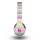 The Colorful Chevron Pattern copy Skin for the Beats by Dre Original Solo-Solo HD Headphones