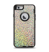 The Colorful Confetti Glitter Apple iPhone 6 Otterbox Defender Case Skin Set