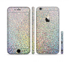 The Colorful Confetti Glitter Sectioned Skin Series for the Apple iPhone 6