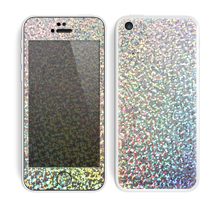 The Colorful Confetti Glitter Skin for the Apple iPhone 5c