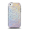 The Colorful Confetti Glitter Sparkle Apple iPhone 5c Otterbox Symmetry Case Skin Set