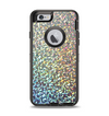 The Colorful Confetti Glitter Sparkle Apple iPhone 6 Otterbox Defender Case Skin Set