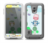 The Colorful Emotional Cartoon Owls in the Trees Skin for the Samsung Galaxy S5 frē LifeProof Case