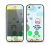 The Colorful Emotional Cartoon Owls in the Trees Skin Set for the iPhone 5-5s Skech Glow Case