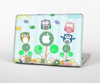 The Colorful Emotional Cartoon Owls in the Trees Skin for the Apple MacBook Pro 15""
