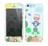The Colorful Emotional Cartoon Owls in the Trees Skin for the Apple iPhone 5s