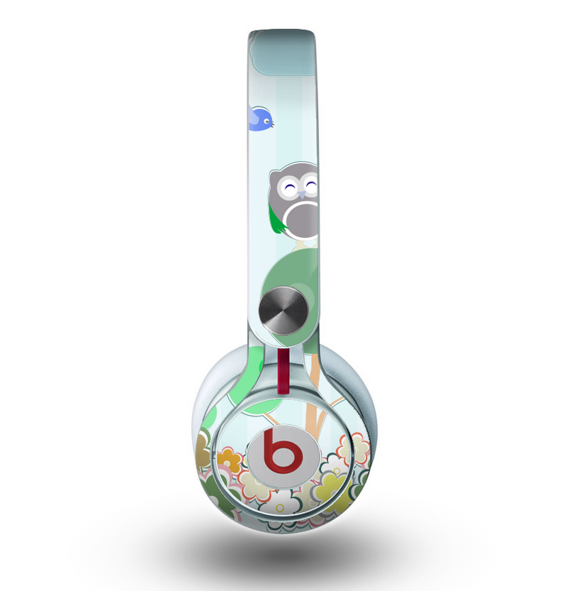 The Colorful Anchor Vector Collage Pattern Skin for the Beats by Dre Mixr Headphones
