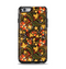 The Colorful Floral Pattern with Strawberries Apple iPhone 6 Otterbox Symmetry Case Skin Set