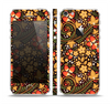 The Colorful Floral Pattern with Strawberries Skin Set for the Apple iPhone 5