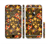 The Colorful Floral Pattern with Strawberries Sectioned Skin Series for the Apple iPhone 6 Plus