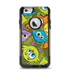 The Colorful Highlighted Cartoon Birds Apple iPhone 6 Otterbox Commuter Case Skin Set