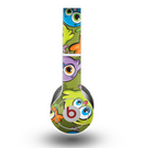 The Colorful Highlighted Cartoon Birds Skin for the Beats by Dre Original Solo-Solo HD Headphones