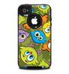 The Colorful Highlighted Cartoon Birds Skin for the iPhone 4-4s OtterBox Commuter Case