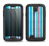 The Colorful Highlighted Vertical Stripes  Samsung Galaxy S4 LifeProof Fre Case Skin Set
