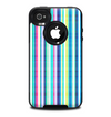 The Colorful Highlighted Vertical Stripes Skin for the iPhone 4-4s OtterBox Commuter Case